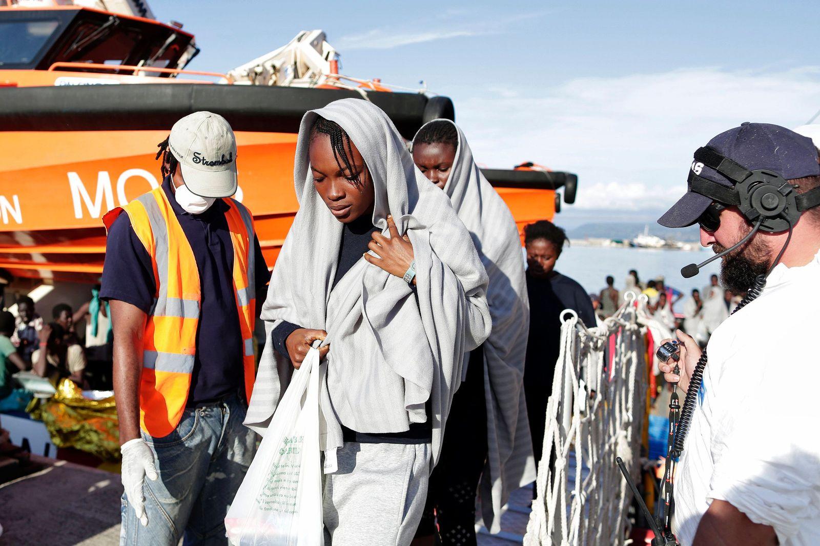 Flüchtlinge/ Rettung/ Libyen