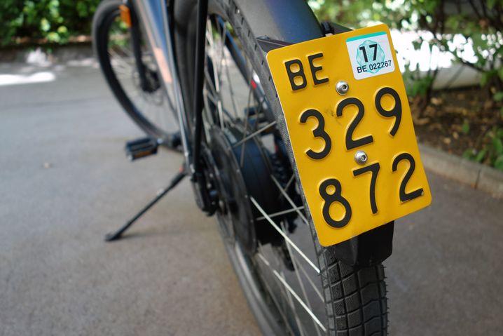 Schweizer Nummernschild