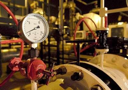 Druckmesser einer Öl-Pipeline: Bereits der dritte Lieferstoppvon Lukoil