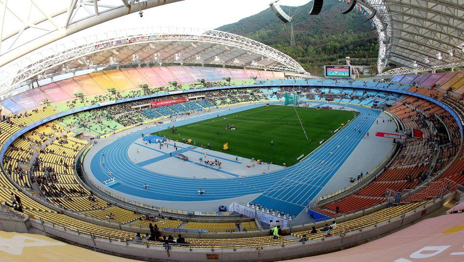 Stadion in Daegu: Anonyme Athleten-Befragung zeigt Doping-Missstände