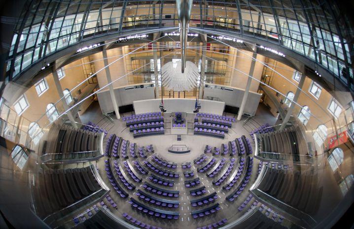 Plenum aus der Vogelperspektive: Bundestag wird durchgemischt