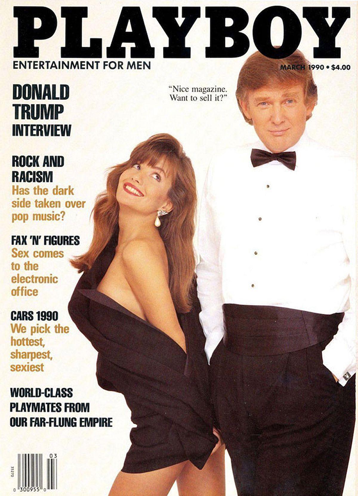 Trump/ Deutschland/ Playboy