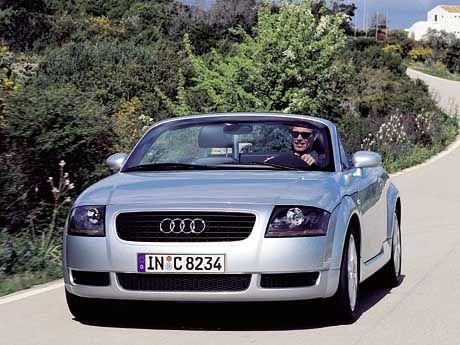 Yuppies Liebling: Der Audi TT Roadster