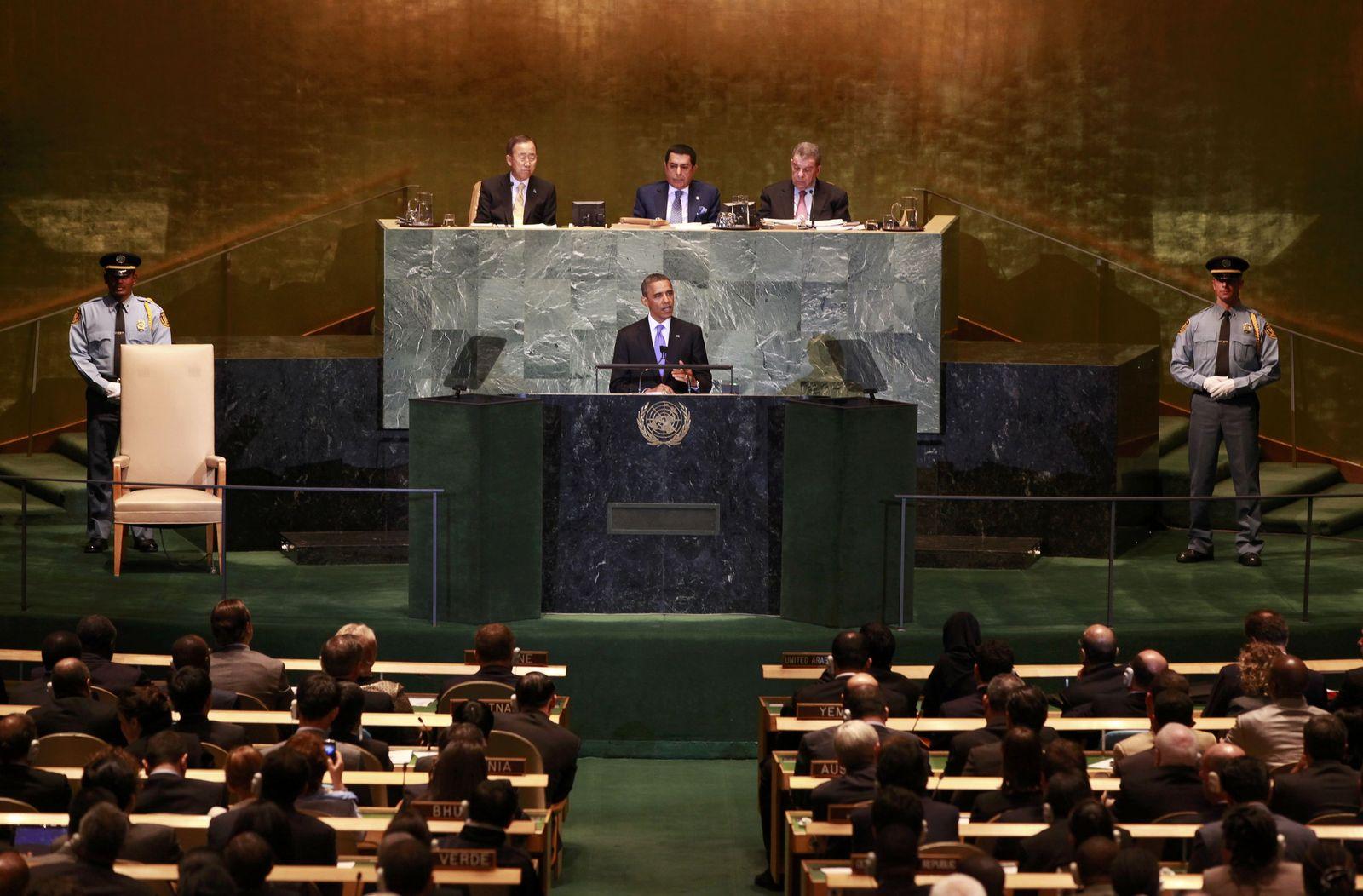 Obama / UN Vollversammlung