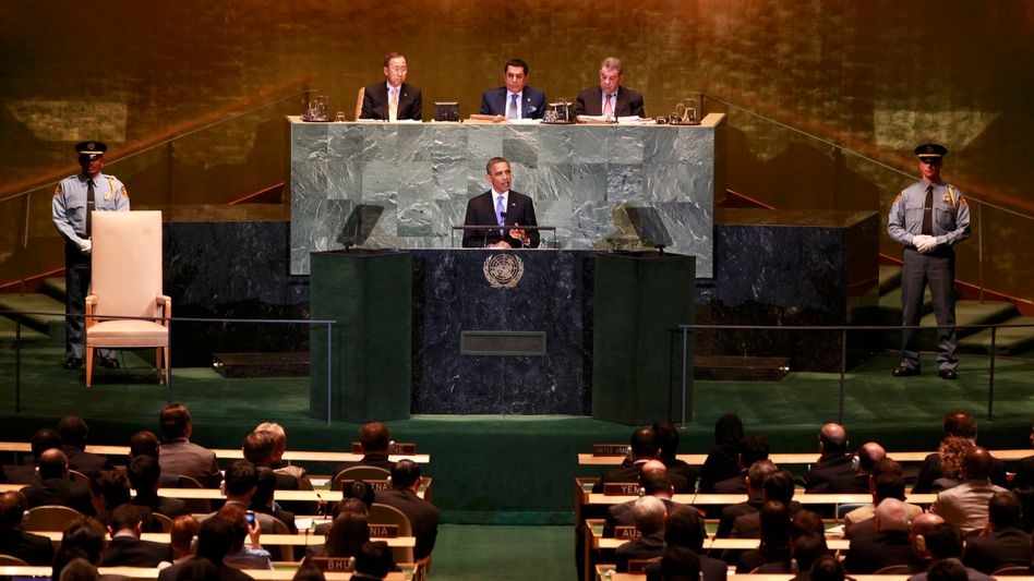 US-Präsident Barack Obama: Absage an die Uno-Mitgliedschaft Palästinas