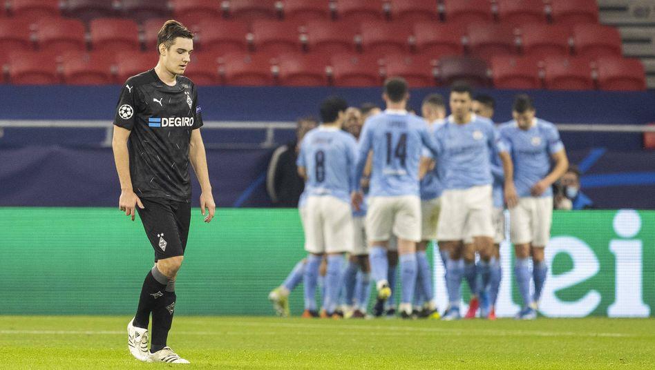 Florian Neuhaus war nach der Niederlage enttäuscht