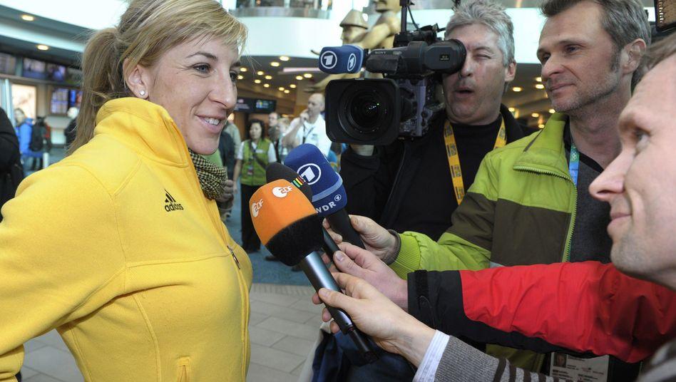 Ex-Star Friesinger-Postma: Stimmung vor Sotschi angeheizt