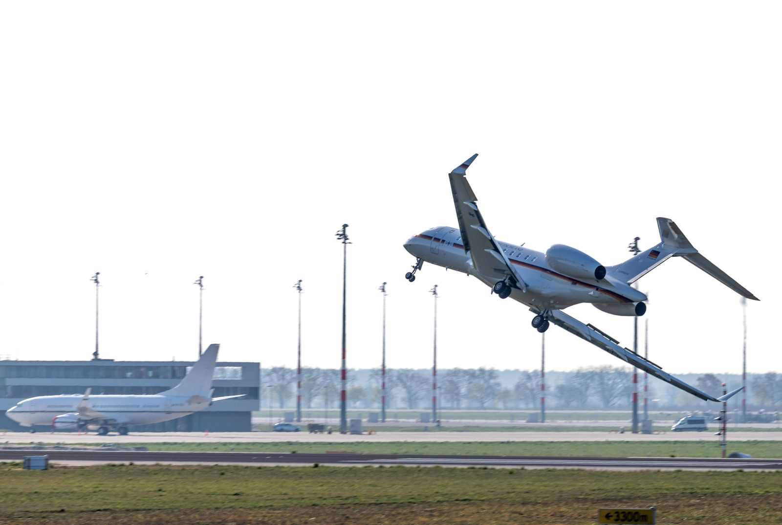 Berlin/ Notlandung/ Planespotter
