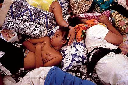 """Ausruhen auf der MV """"Tokelau"""": Ein- bis zweimal im Monat kommt das Schiff von Samoa"""
