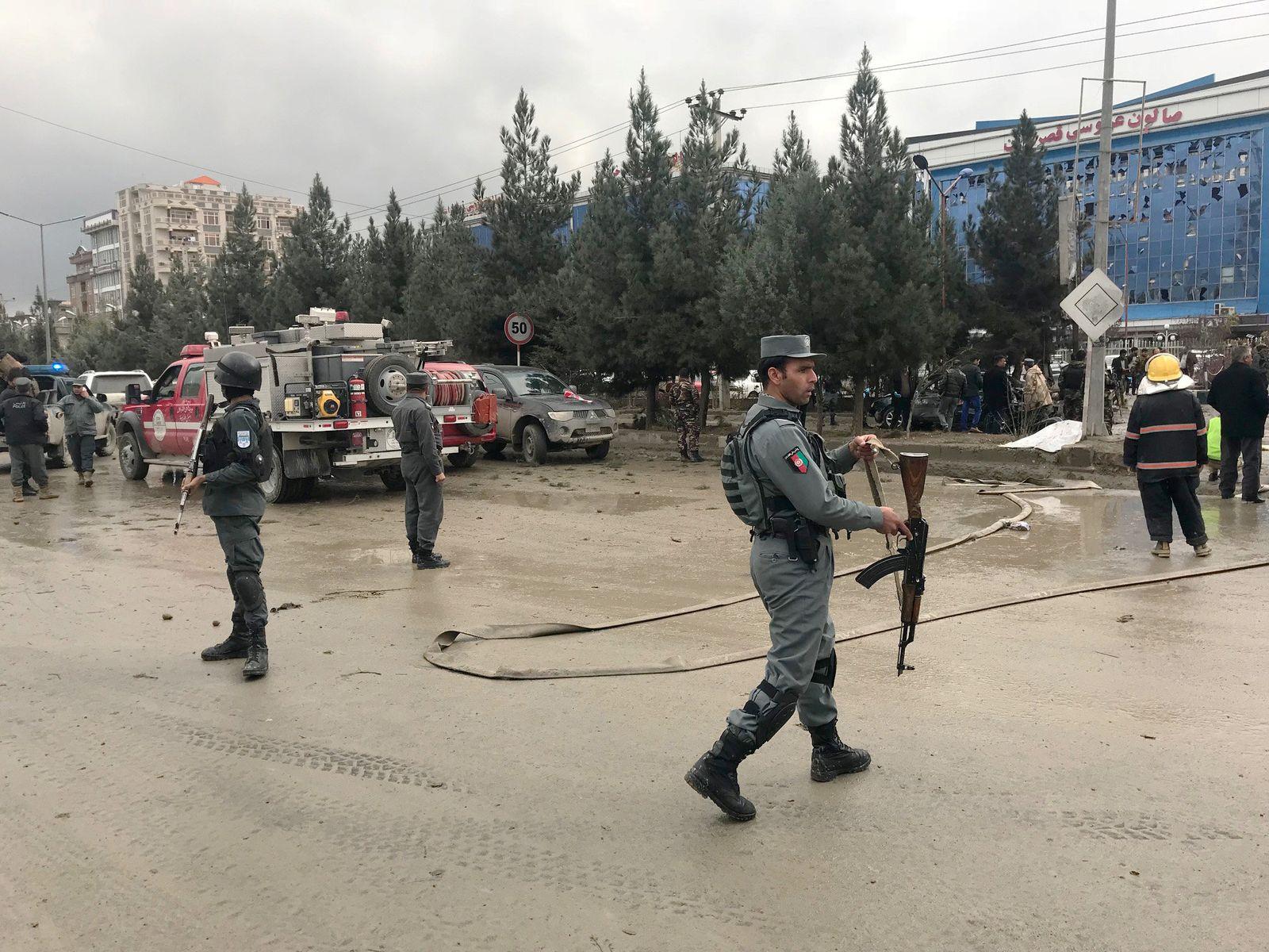 Kabul/ Anschlag/ 16.11.2017