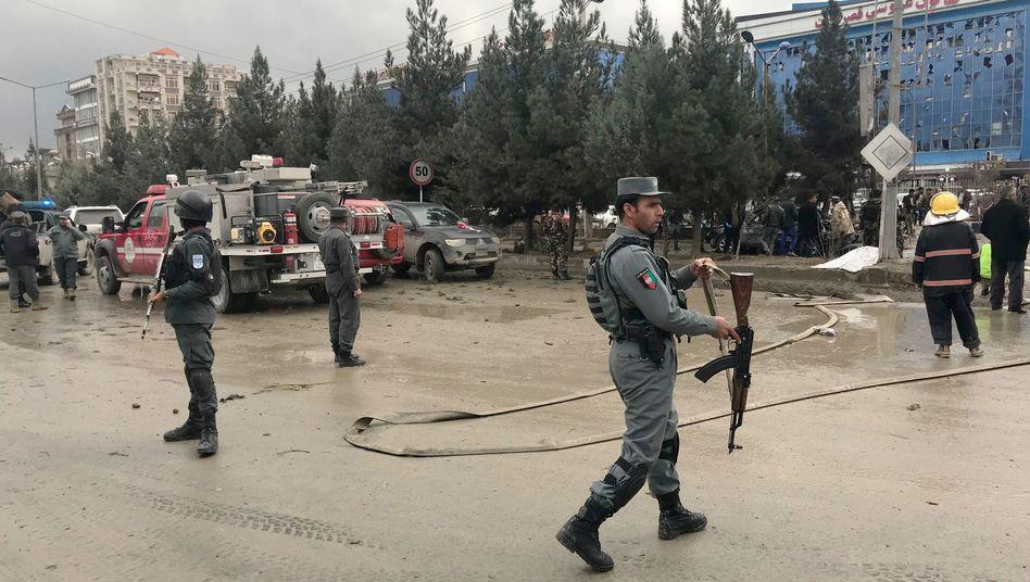 Nach der Explosion in Kabul