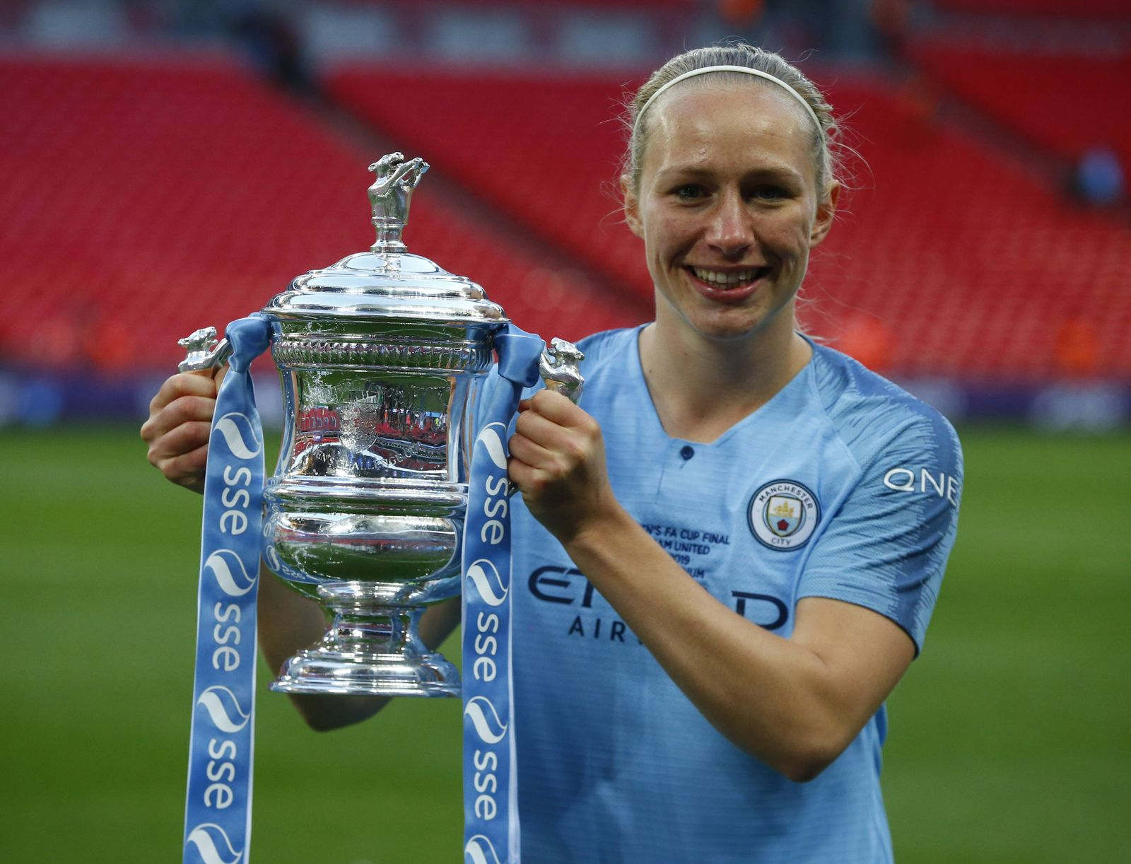 EINMALIGE VERWENDUNG Pauline Bremer/ Manchester City WFC
