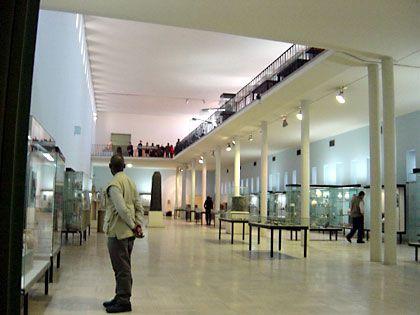 Im Nationalmuseum vor den Plünderungen