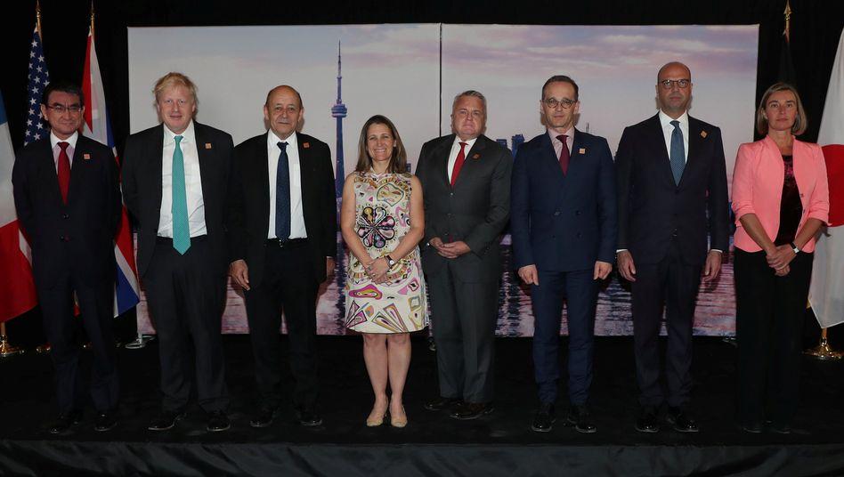 G7-Gruppenfoto in Toronto - ohne Putin