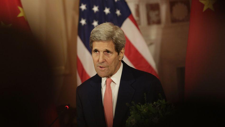 """US-Außenminister John Kerry: """"Wir haben Präsident Hollande nicht im Visier"""""""