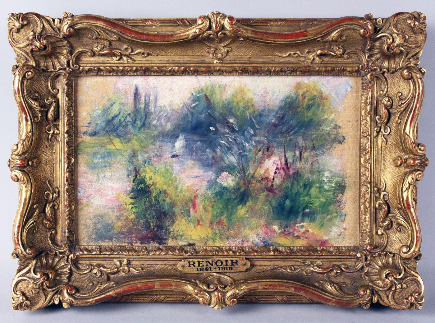 EINMALIGE VERWENDUNG Auktion/ Renoir