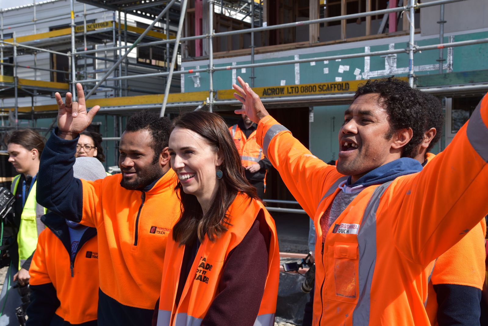 New Zealand Prime Minister Jacinda Ardern campaigns ahead of election, Palmerston North, Australia - 17 Sep 2020