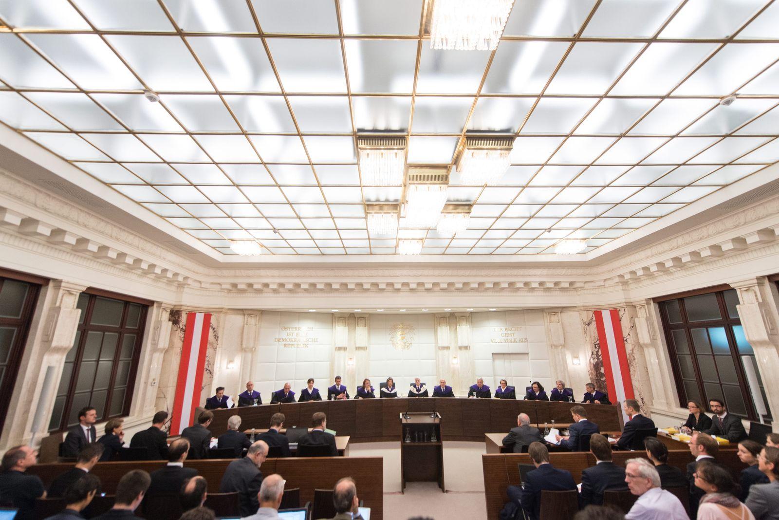 Österreich / Urteil Bundespräsidentenwahl