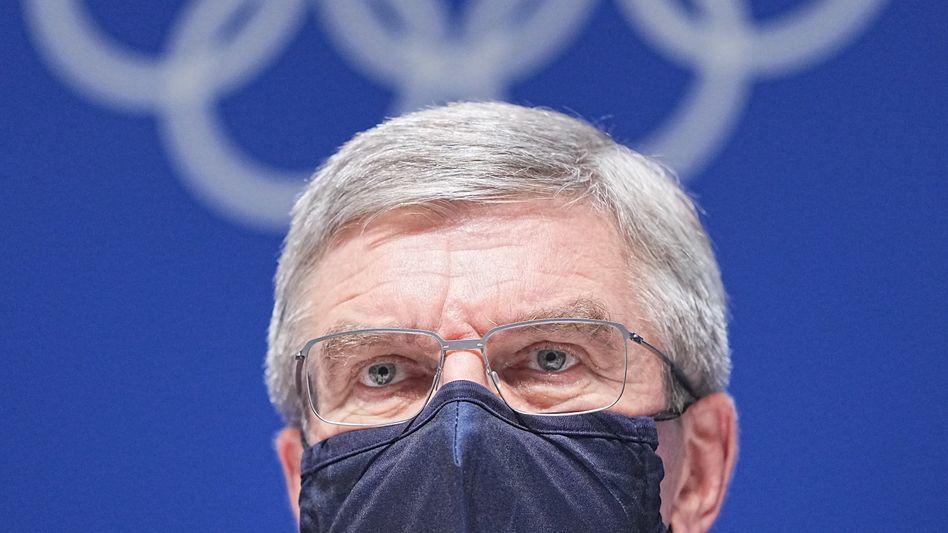 IOC-Präsident Bach: Frieden predigen, Autokraten hofieren