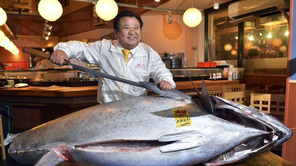 Tokio: Ein Thunfisch für 1,3 Millionen Euro