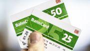 Preise für Bahncard 25 und 50 sinken
