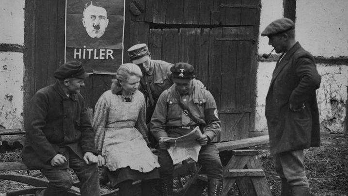 """Preisausschreiben für Nazis: """"Na, suchst du auch'n Pöstchen"""""""
