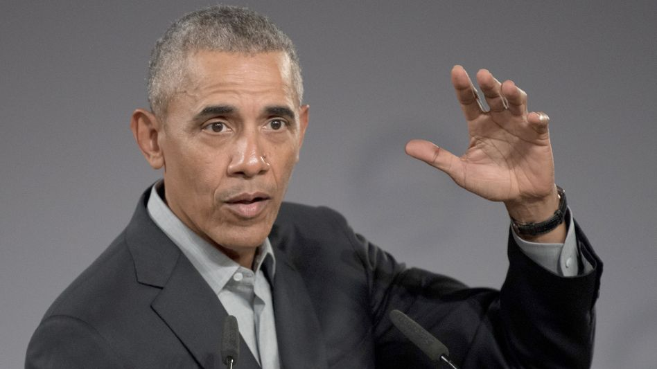 Barack Obama kritisierte indirekt seinen Nachfolger