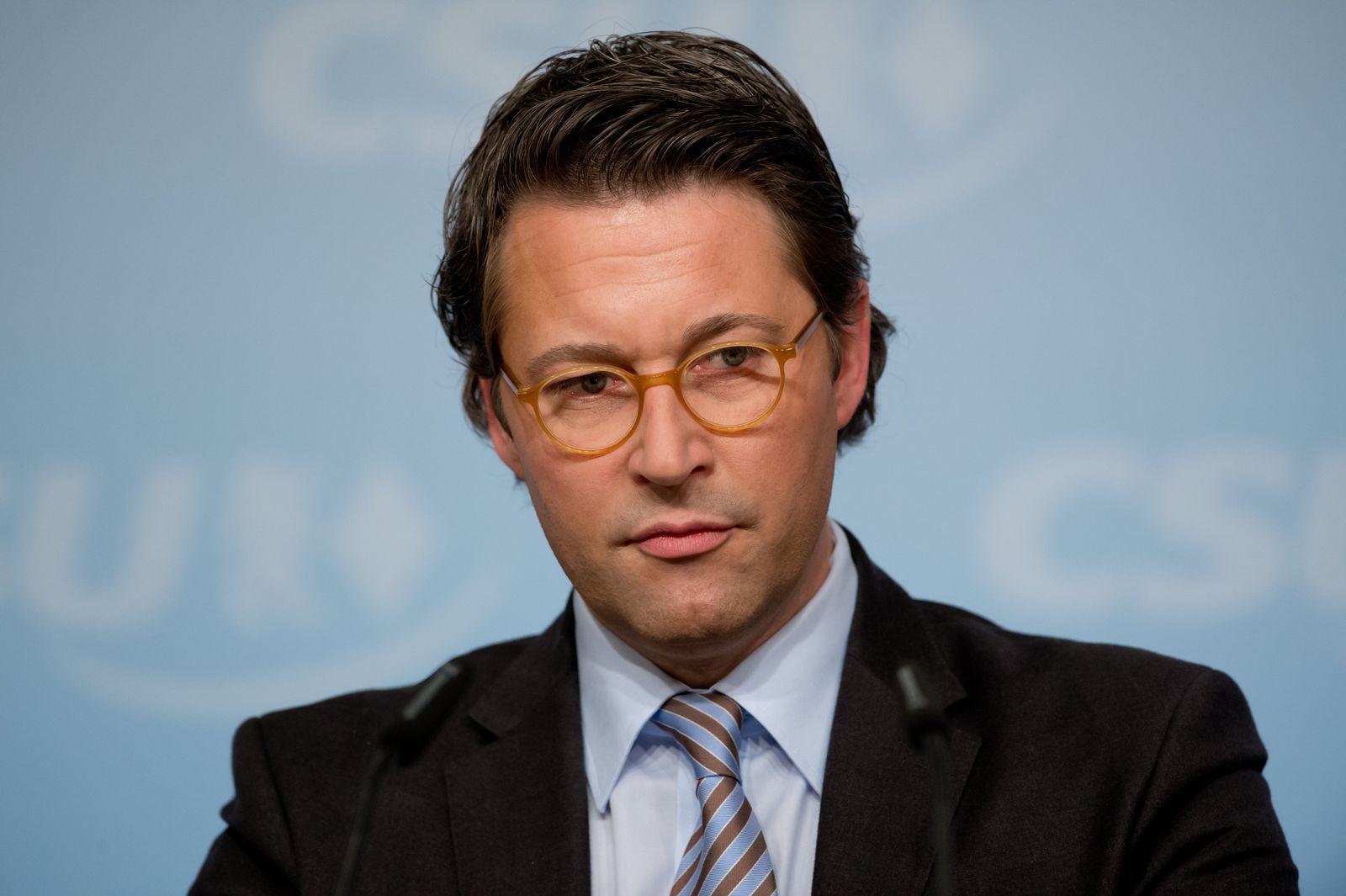 Andreas Scheuer / CSU-Vorstandssitzung