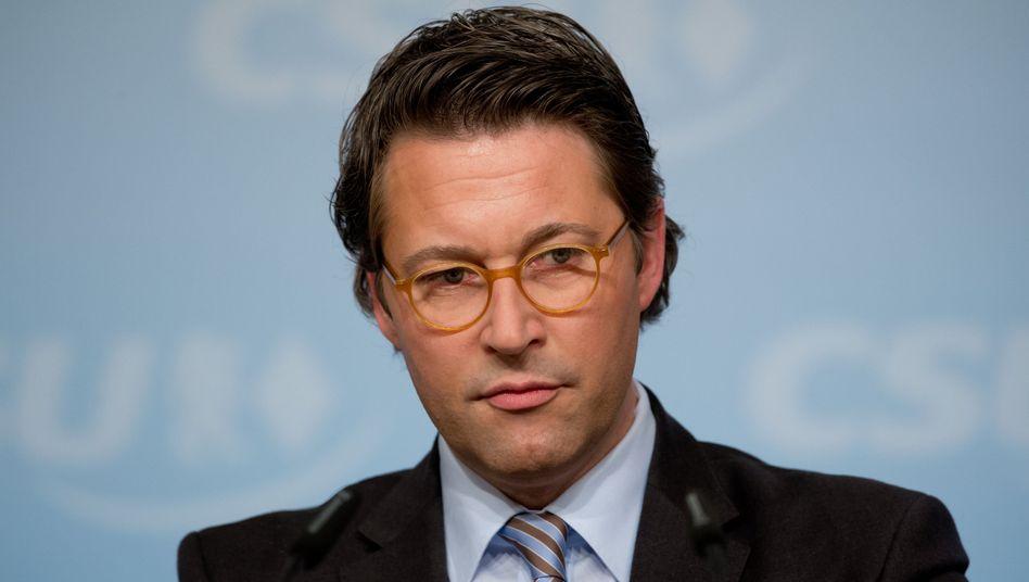 """CSU-Generalsekretär Scheuer: Kleine """"redaktionelle Änderungen"""""""