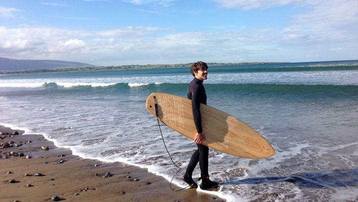 Surfen in Irland: Riesenwellen und leere Strände