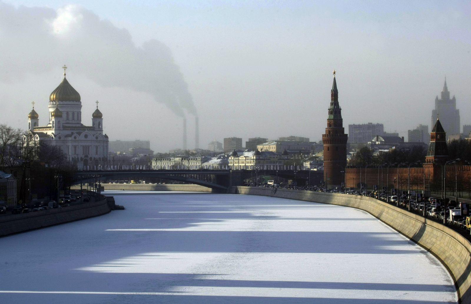 Wetter/ Schnee/ Russland