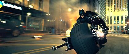 """Szene aus """"The Dark Knight"""" (mit Christian Bale als Batman): Neuer Umsatzrekord"""
