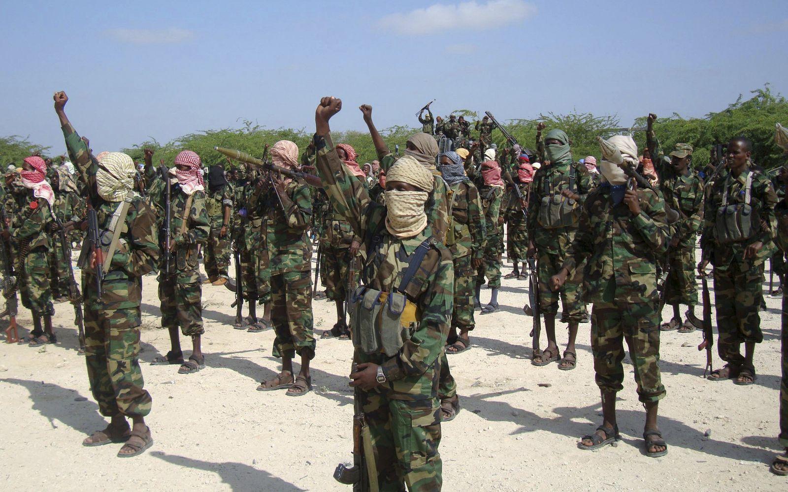 schabab-Kämpfer somalia