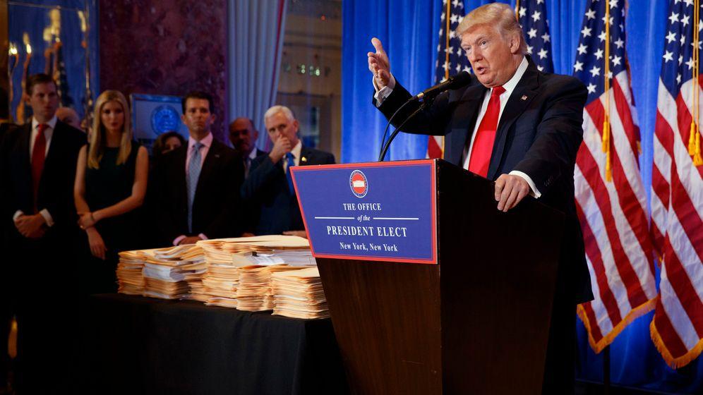 """Trumps Pressekonferenz: """"Dir gebe ich keine Frage"""""""