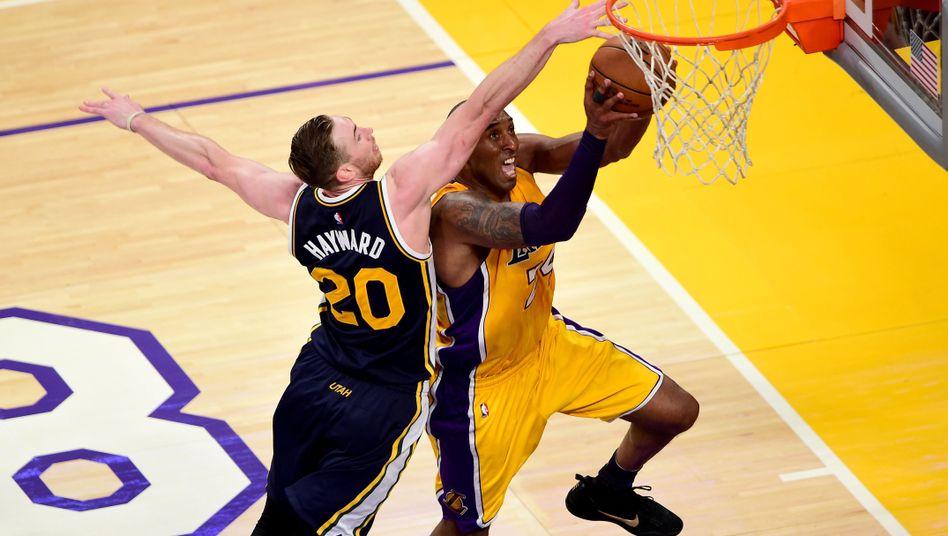 Punkterekord bei Kobe Bryants Abschied: Ab ins Körbchen