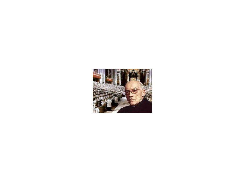 EINMALIGE VERWENDUNG NUR FÜR EINESTAGES - Kardinal Frings in Rom