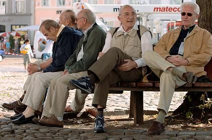 Rentner: Vorgezogene Teil-Rente denkbar