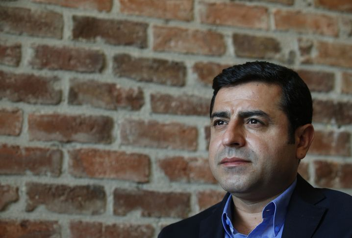 Demirtas has criticized Ankara for targeting Kurds while they fight IS extremists in neighboring Syria and Iraq. He says the government contrived its current strife with the PKK to solidify its power.
