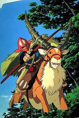 Kämpft ums Überleben und verliebt sich in Mononoke: Krieger Ashitaki