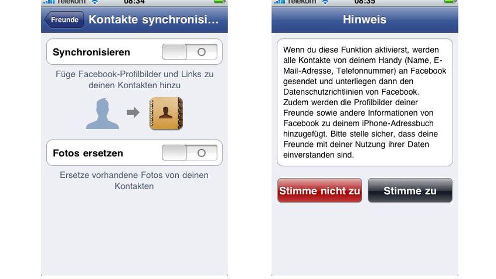 Facebook: So saugt das Netzwerk Telefonbücher