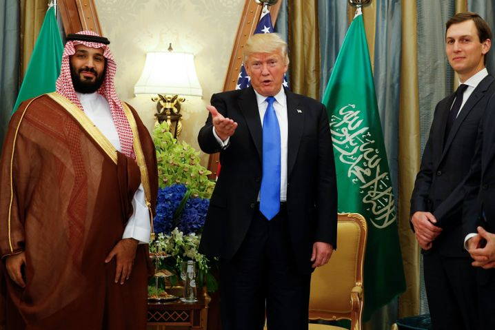 """Kronprinz MbS, Trump, Kushner: """"Was verbergen sie?"""""""
