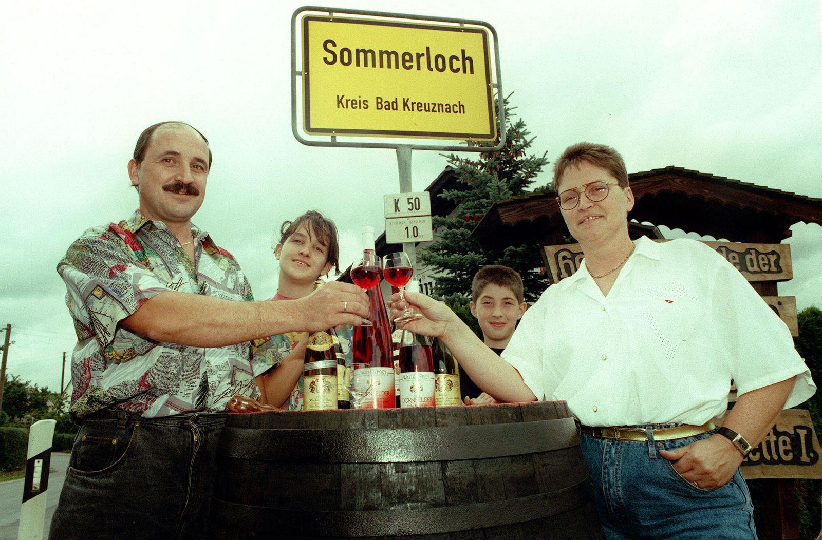 Sommerloch/Weinbau
