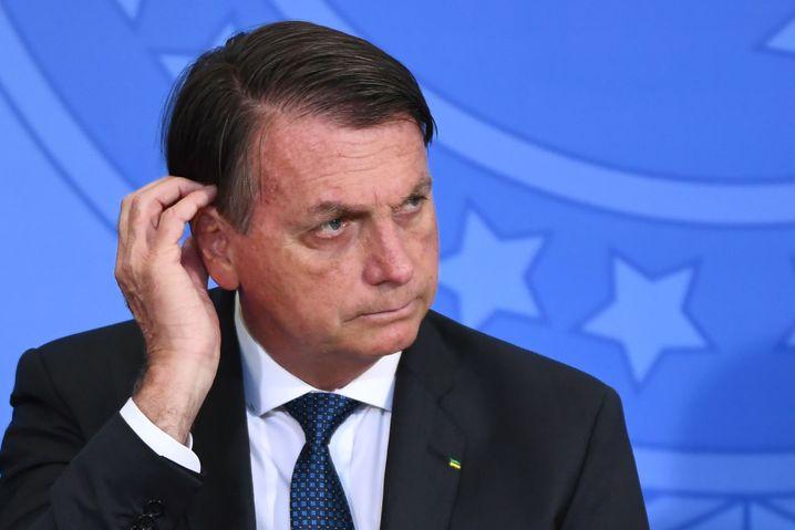 Wegen Amtspflichtverletzung angezeigt: Jair Bolsonaro