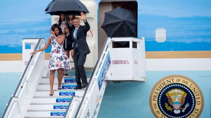 Historischer Besuch: US-Präsident Obama in Kuba
