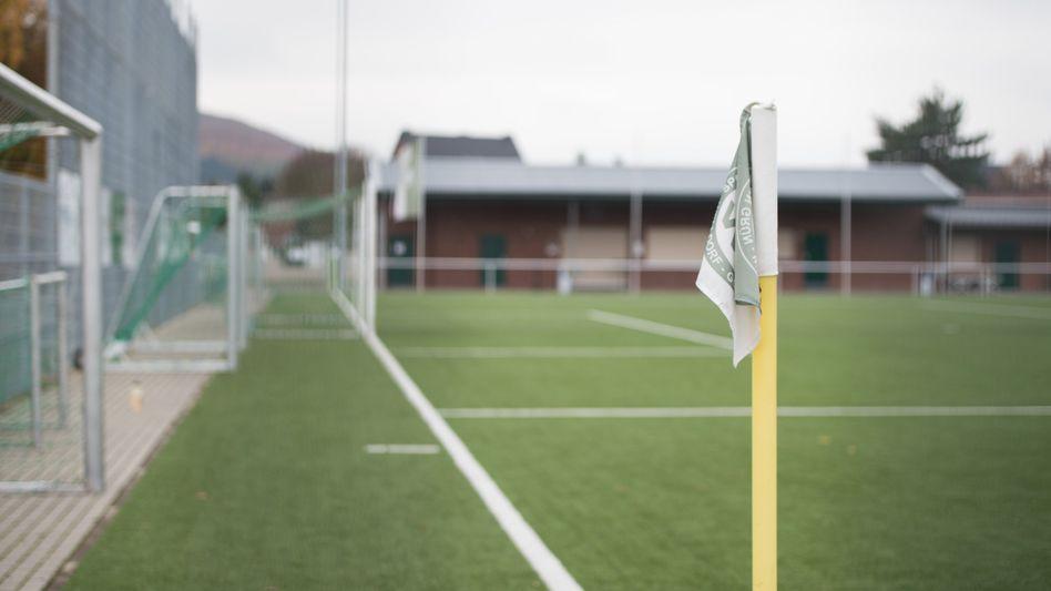 Fußballplatz des SV Grün-Weiß Welldorf-Güsten (Archiv)