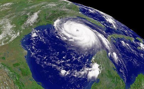 """Satellitenbild von """"Katrina"""": Bestätigung für Klimaforscher"""