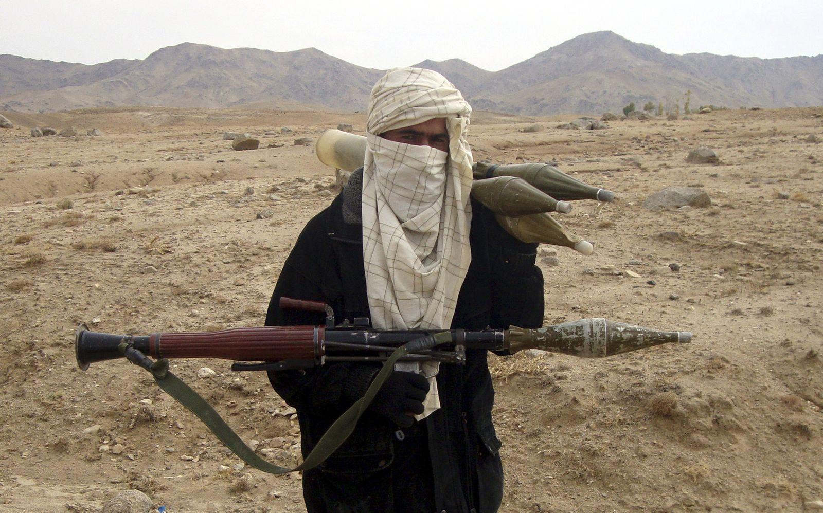 Taliban-Kämpfer / Afghanistan
