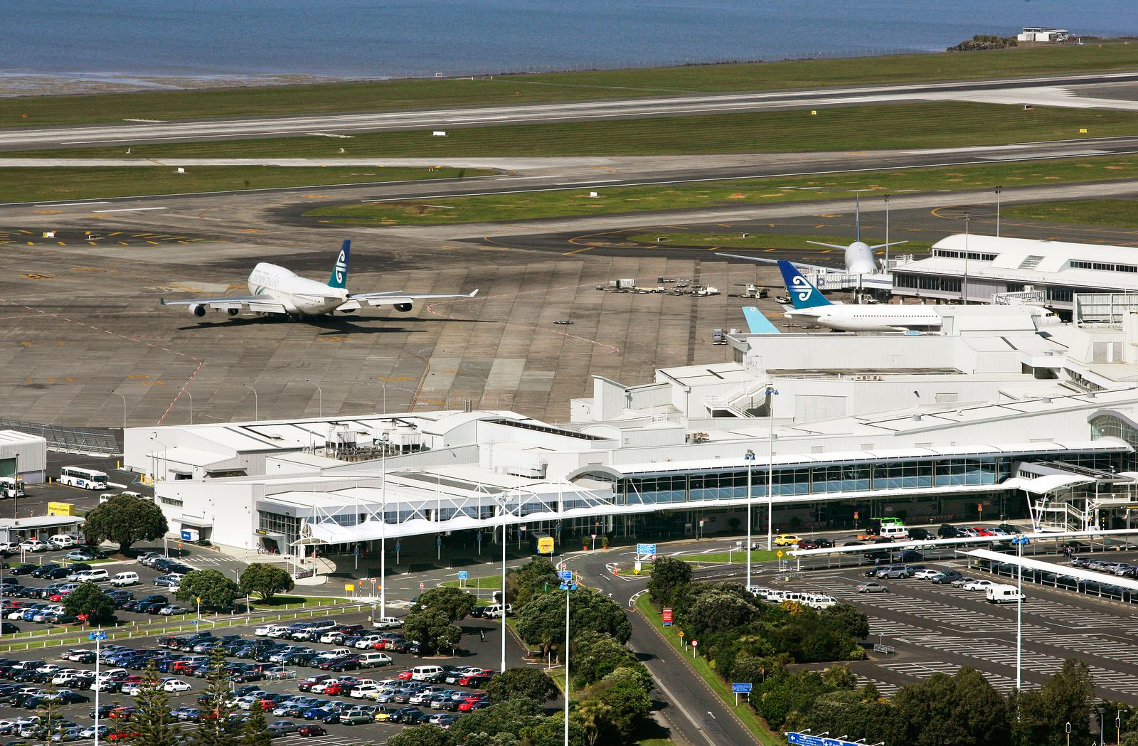 NEW ZEALAND / Auckland Airport