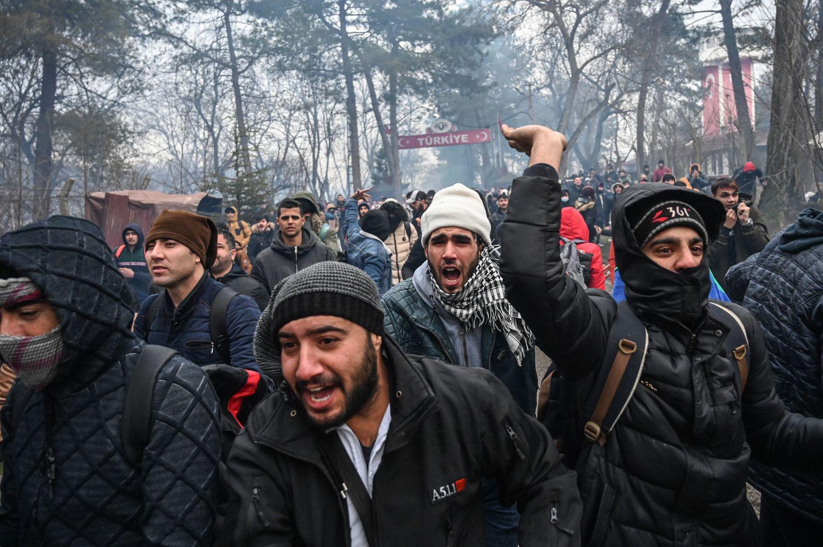 TURKEY-GREECE-EU-MIGRANTS-CONFLICT