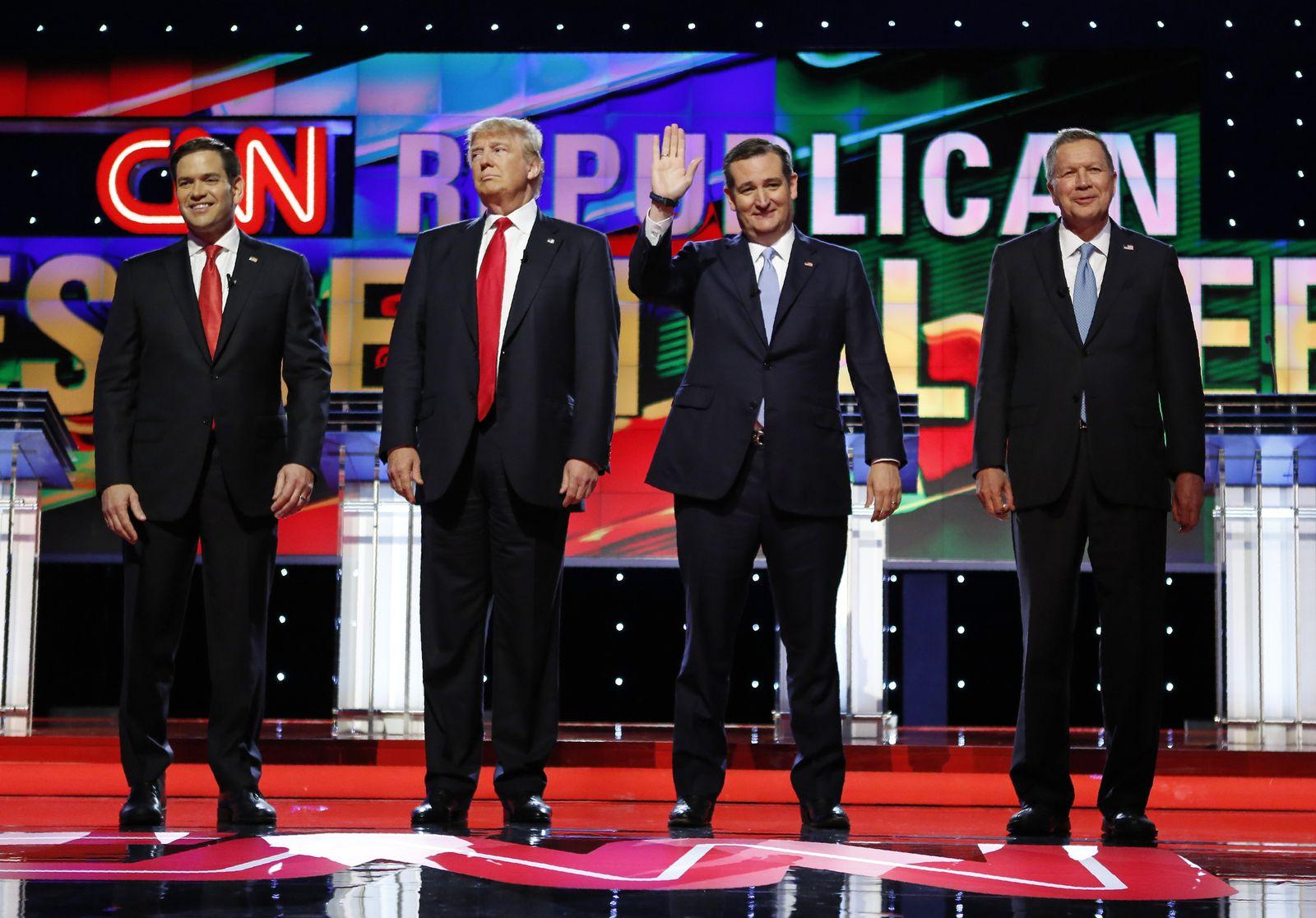 Trump / Crus / Kasich
